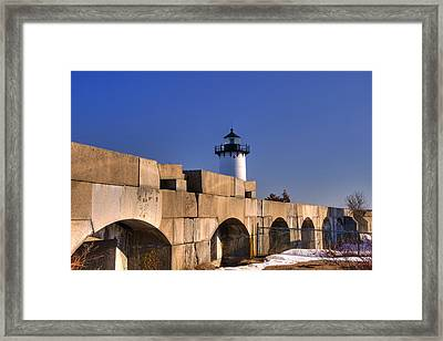 Portsmouth Harbor Light 2 Framed Print by Joann Vitali