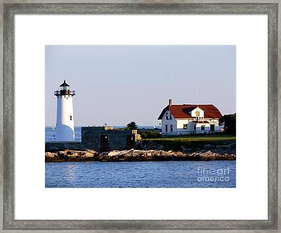 Portsmouth Harbor Light Framed Print