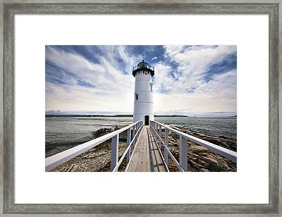 Portsmouth Harbor Lighthouse Framed Print