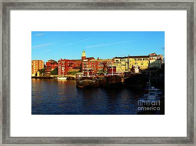 Portsmouth In The Afternoon Framed Print