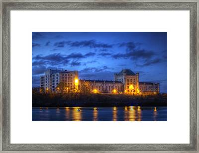 Portsmouth Naval Prison Framed Print by Eric Gendron