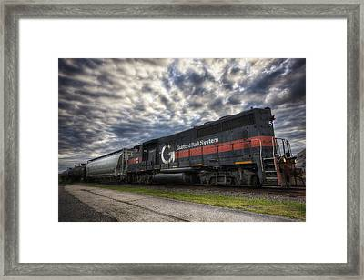 Portsmouth Rail Yard Framed Print by Eric Gendron