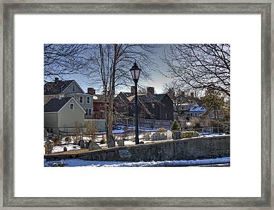 Portsmouth Winter Framed Print by Joann Vitali