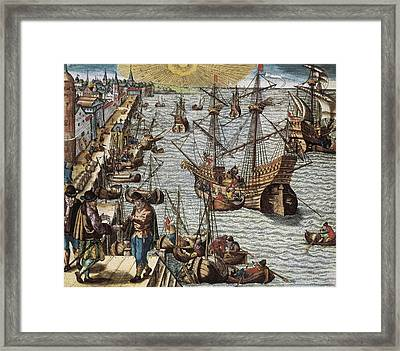 Portugal 16th C.. Departure Framed Print by Everett