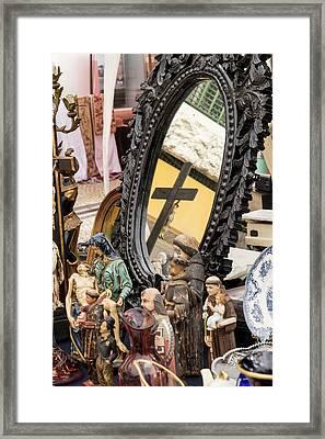 Portugal Aveiro 'portuguese Venice' Framed Print by Emily Wilson