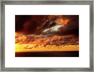 Portugal, Azores Framed Print by Kymri Wilt