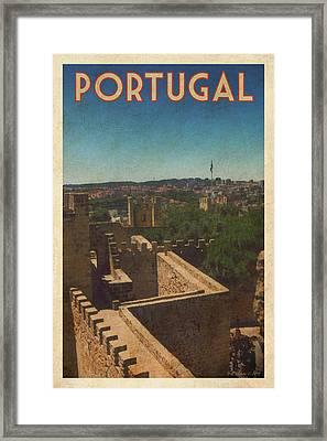 Portugal Framed Print by Bill Jonas