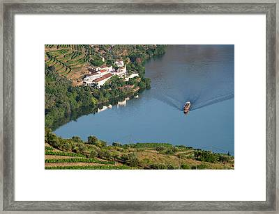 Portugal, Douro Valley, Douro River Framed Print by Emily Wilson