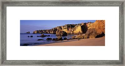 Portugal, Lagos, Algarve Region Framed Print