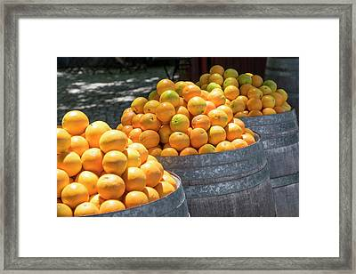 Portugal, Obidos Framed Print by Emily Wilson