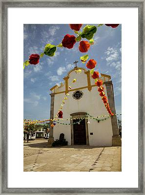 Portugal, Tavira, Chapel Of Sao Framed Print