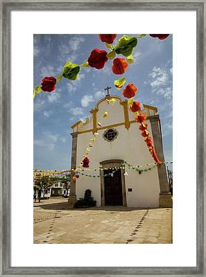 Portugal, Tavira, Chapel Of Sao Framed Print by Terry Eggers