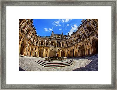 Portugal, Tomar, The Convent Framed Print by Terry Eggers