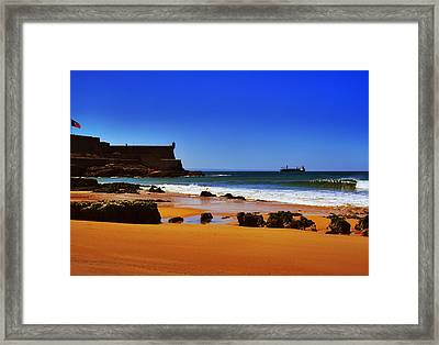 Portuguese Coast Framed Print by Marco Oliveira