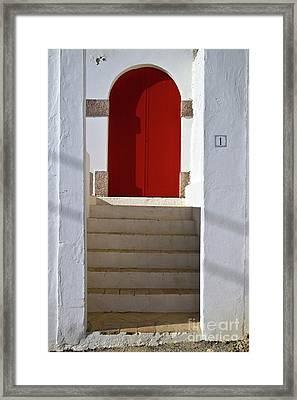 Portuguese Entrance Framed Print by Heiko Koehrer-Wagner