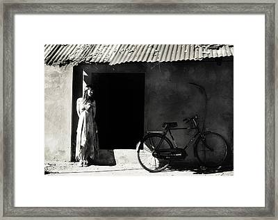 Portuguese House. Old Goa. India Framed Print by Jenny Rainbow