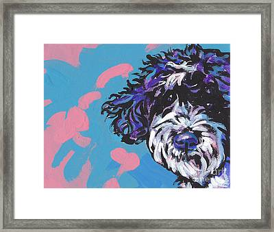 Portuguese Wild Thing Framed Print by Lea S