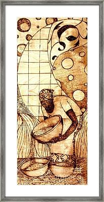 Po'r'um Dey Framed Print by Dewayne Sykes