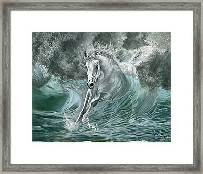 Poseidon's Gift Framed Print