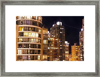 Framed Print featuring the photograph Posh Neighbors Dccxl by Amyn Nasser