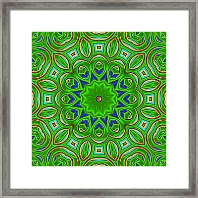 Posh Framed Print