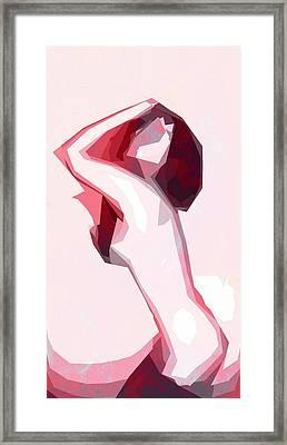 Posing Framed Print by Steve K
