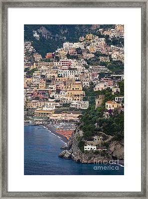 Positano Framed Print by Brian Jannsen