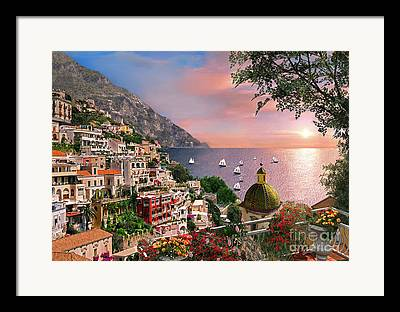 Rivera Digital Art Framed Prints