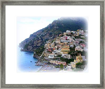 Positano Italy Framed Print by Patrick Witz
