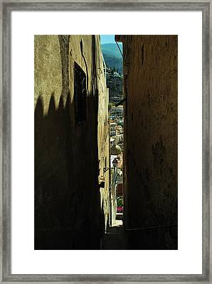 Positano Small View Framed Print