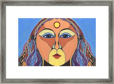 Positive Influence Framed Print by Helena Tiainen