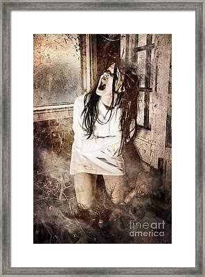 Possessed Framed Print by Jt PhotoDesign