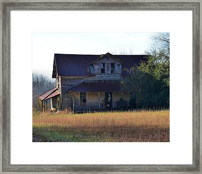 Possibly Haunted House Old 421 - 51008617f Framed Print by Paul Lyndon Phillips