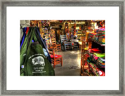 Possum The Other White Meat Framed Print by Greg Mimbs