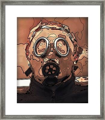 Post Apocalypse Framed Print by Daniel Hagerman