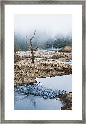 Framed Print featuring the photograph Post Apocalyptic Landscape by Trevor Chriss
