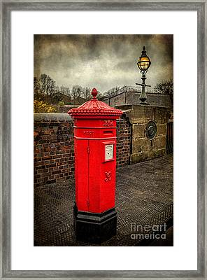 Post Box V2 Framed Print by Adrian Evans