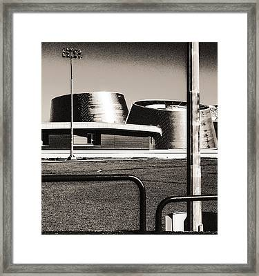 Framed Print featuring the photograph Post-industrial by Arkady Kunysz