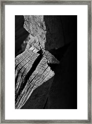 Post Light Framed Print