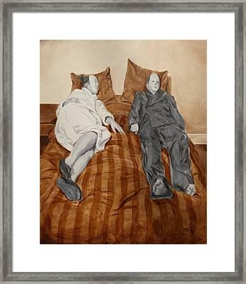 Post Modern Intimacy II Framed Print by Alison Schmidt Carson