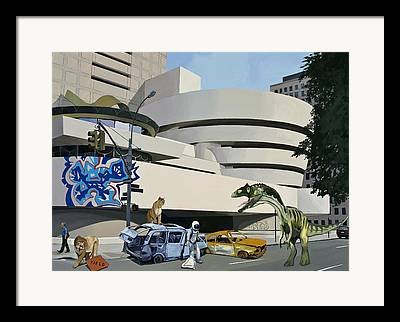 Guggenheim Framed Prints