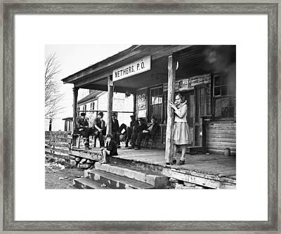 Post Office, 1935 Framed Print by Granger