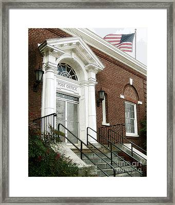 Post Office 38242 Framed Print