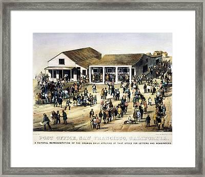 Post Office, San Francisco Framed Print by Granger