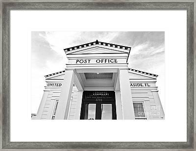 Post Office Framed Print