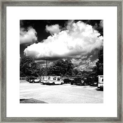 Postal Cloud Framed Print