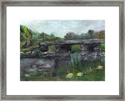 Postbridge Dartmoor Framed Print by Carol Rowland