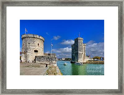 Postcard From La Rochelle Framed Print by Olivier Le Queinec