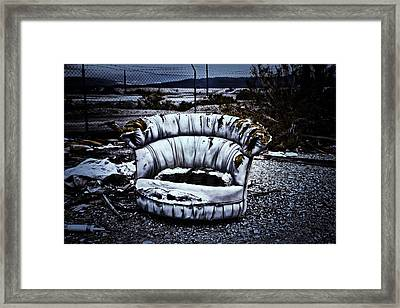 Postcard From The Apocalypse #2 Framed Print