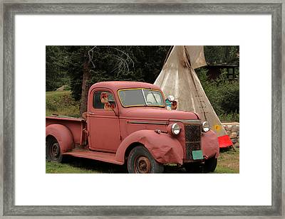 Postcard From Yesterday Framed Print by Lynn Sprowl